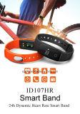 Pulsera de reloj elegante vendedora superior de Bluetooth 4.0 impermeables sanos elegantes del perseguidor de la pulsera del movimiento ID107