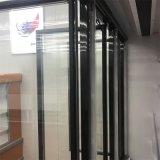 Refrigerador vertical de las puertas de la visualización fría de cristal multi de la bebida