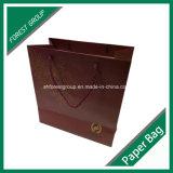 Bolso de compras de papel caliente de Stampping del oro para empaquetar