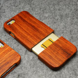 طبيعيّ حقيقيّة [ووود نغرفينغ] خشبيّة هاتف حالة