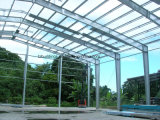 Almacén caliente de la estructura de acero de la luz de la venta con alta calidad
