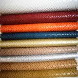 Form-Entwurfs-spinnendes Muster-synthetisches Leder für Bags der Dame (HTS006)