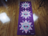 Farbenreiche Drucken-Yoga-Matten-multi Funktions