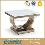 ステンレス鋼の側面の家具のための標準的なローズの金の側面表