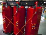 Subestação do transformador elevador das energias eólicas