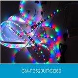 IP67 Veranderlijke LEIDENE van de Kleur van waterdichte Openlucht LEIDENE Dsi PCB 60SMD van de Strook Lichte 5050 Stijve RGB Flexibele Strook 5m Licht