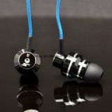 Trasduttore auricolare Braided del metallo del cavo di alta qualità speciale bassa di disegno con il Mic