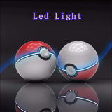 12000mAh Pokemon van batería ligera portable de la potencia de Pokeball LED Pokemon