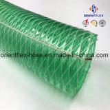 Tuyau renforcé en plastique à haute température en acier au PVC en acier