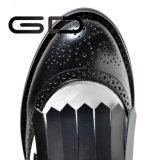 最新の製造業者の革女性の平らな靴