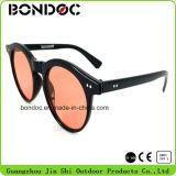 Venda quente em volta dos óculos de sol do frame para mulheres