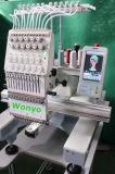 Informatisé machine 9 aiguilles de commerce de broderie pour 2 chefs Computerized Embroidery Machine