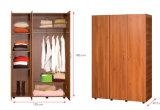 Kabinet van de Opslag van de Kleren van het Meubilair van de slaapkamer het Houten /Wardrobe (hx-DR089)