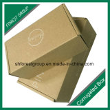 Caixas de envio pelo correio do papel ondulado da impressão de Flexo para o transporte
