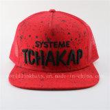 Gorra de béisbol ocasional del PUNTO blanco de moda de Hip Hop para los sombreros de béisbol de la suposición de la Salpicar-Tinta de los hombres