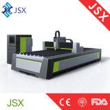 Maquinaria de bronze de aço de alumínio da estaca do laser da fibra da estaca do metal Jsx-3015 profissional