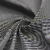 água de 75D 250t & do Sportswear tela 100% preta tecida do filamento do fio do poliéster do jacquard da manta para baixo revestimento ao ar livre Vento-Resistente (FJ010F)