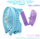 Navulbare Ventilator van de Vouwen van de zomer de Populaire Elektrische Handbediende