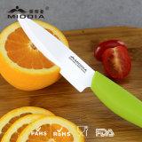 Нож кухни 4.5 дюймов керамический, нож плодоовощ инструмента резца