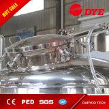 5000L de rode Tank van het Bier van het Gistmiddel van de Brouwerij van het Koper Heldere (goedgekeurd Ce)