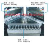 El plástico embotella la máquina del moldeo por insuflación de aire comprimido de inyección