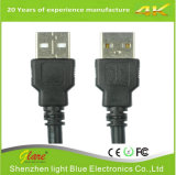 Черный зарядный кабель USB