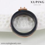 13906 Ceramische Ring van het Roestvrij staal van Zircon van de Juwelen van de manier de Zwarte voor Mensen