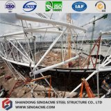 Steel Space Frame Estadio Forma de arco