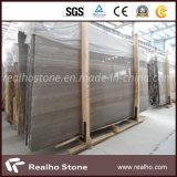 Marbre en bois de veine de café de la Chine pour le modèle de tuile de mur