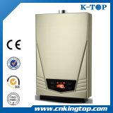 Tipo del tubo del calentador de agua del gas de la capa del polvo