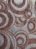 2016 großes Brown Chenille-Jacquardwebstuhl-Sofa-und Möbel-Gewebe (FTH32017)