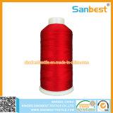 レースのための多彩な100%年のレーヨン刺繍の糸