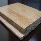 Uso de interior tejido hilo impreso del entarimado de bambú
