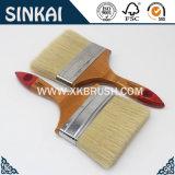 Balai de cheveu plat de traitement en bois chaud de vente