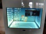 Interaktiver 47 Zoll-Noten-heißer Verkaufs-transparenter Fenster-Bildschirm, kundenspezifische flexible transparente LCD-Bildschirmanzeige