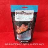 Sacchetto di plastica della chiusura lampo di stampa variopinta dell'animale domestico per l'imballaggio per alimenti