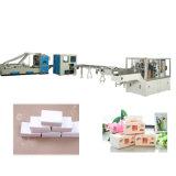 Cadena de producción de nylon automática completa de máquina de la fabricación de papel de tejido facial del bolso