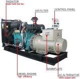 Diesel aprobado del Ce 350kw 437kVA generador de 3 fases