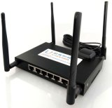 La multi lan industriale di WiFi Lte 4G Ports il router con le porte 1wan/5LAN o 6LAN