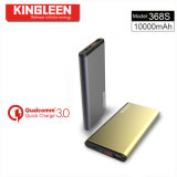 El modelo 368s escoge las entradas dobles del USB para el relámpago y la venta caliente ultraligera Micro-Estándar del alto calidad de la batería de la potencia de Micro10000mAh y ultrafina