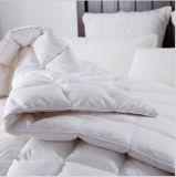 Del lecho del hotel del blanco el 75% del pato edredón del algodón de relleno abajo