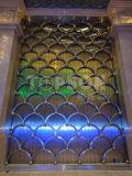 Muro divisorio piegante decorativo del divisorio dello schermo dell'acciaio inossidabile
