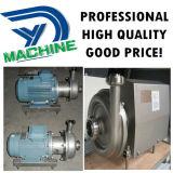 Pompe centrifuge de lait sanitaire de l'acier inoxydable Ss304 avec la turbine ouverte
