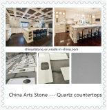 中国白の大理石の虚栄心の上およびカウンタートップ(白い大理石)