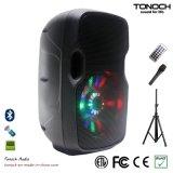 8 Zoll professionelle bewegliche fehlerfreie Lautsprecher-mit Programm RGB-Licht
