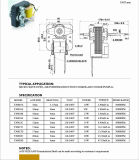 El calentador/cuece al horno el motor de ventilador eléctrico de la CA del horno/de la bomba/de Humidfer del acondicionador de aire