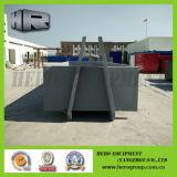 10m Gray Roll van Container/Hook Bin met Single Door