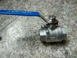 2PC válvula de esfera do flutuador Ss304/Ss316 para o uso da indústria