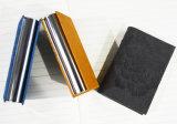 Caixa de cartão de couro do nome do negócio do plutônio da forma