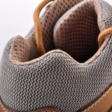 Los zapatos de seguridad libres del trabajo del metal, seguridad anudan M-8150